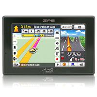 MP3 prehrávač do 5GB - MIO C720B GPS + Mio Map EU